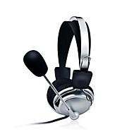 Cuffie stereo per PC con le fasce auricolari microfono di gioco
