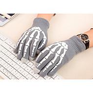 puhelin tabletti sormenpää kosketusnäyttö käsineet luuranko fiksu lämmin talvi puuvilla mitten miesten ja naisten (valovoima)