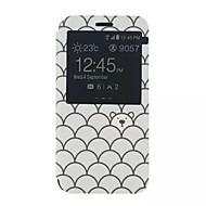 Mert Samsung Galaxy tok Állvánnyal / Betekintő ablakkal / Flip / Minta Case Teljes védelem Case Rajzfilmfigura Műbőr Samsung Xcover 3 / J5