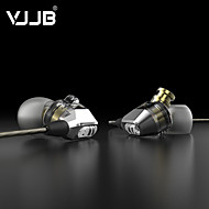 VJJB V1S HIFI Headset In Double Moving Coil Type Microphone