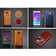 öljyvaha tyyli suojus korttipaikka suojakotelo Samsung Galaxy Note 5/4 huomautuksen (valikoituja väri)