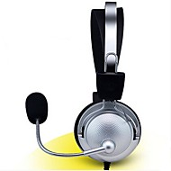 Mental Over-ear Game Gaming Headphone Headset Earphone Headband with Mic Stereo Bass  for PC Game