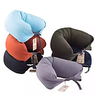 Spandex U Shaped Health Care Travel Headrest Useful Soft Neck Pillow for Travel Convenient Therapy Massage Pillow