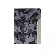 ultratynde camouflage stil læderetui mode cool med bælte kortholderen tilfældet for ipad luft 2 / ipad 6