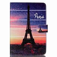 Eiffel-torony Folio bőr állni tok állvánnyal iPad mini 3/2/1