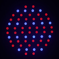 MORSEN®1Pcs LED Plant Grow Light Lamps E27 SMD60 AC85~265V Red:Blue =40:20 LED Hydroponics Lamps For Flowers and Plants