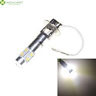 h3 PK22s 35w 7 x CREE LED fehér 6000K autó fényszóró izzó ködlámpa fényszórólámpa AC / DC 9-30v
