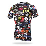 Fietsen/Wielrennen Shirt / Kleding Bovenlichaam Heren Korte MouwAdemend / Ultra-Violetbestendig / Vochtdoorlaatbaarheid / Compressie /