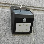 (2 pezzi) di alta qualità solare di 4 ha condotto la luce della lampada di induzione del corpo umano / lampada da parete / lampada esterna
