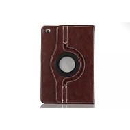 Fashion boutique PU Leather 360⁰ Cases Auto Sleep/Wake Up Card holder Cases For iPad Mini 3/2/1(Assorted Color)
