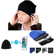 varm beanie lue trådløs bluetooth smart cap hodetelefon headset speaker mic for iphone Sumsung mobiltelefon