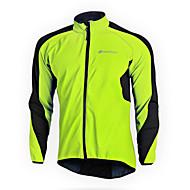 NUCKILY® Sykkeljakke Dame / Unisex Langt Erme BikeVanntett / Hold Varm / Vindtett / Anatomisk design / Fleecefor / Isolert / Regn-sikker
