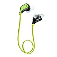 IPX4 vattensportbluetoothhörlurar hörlurar 10 timmar trådlösa sport headset med mikrofon för iphone 6s samsung s6