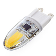 ywxlight® PC 1 G9 regulable 6w 2 * cob 500-700 lm blanco / blanco fresco t luces bi-pin regulables cálidos 220-240 V CA