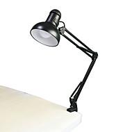 jiawen 5W 400lm אורות קריאת ספר זרוע ארוכת מתקפלים E27 קליפ-על מנורת שולחן (ac110 ~ 220V)
