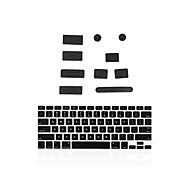 "Silicone Anti Dust Port Plugs + Matching Keyboard Cover for Macbook 13"" Air/Retina"