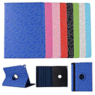Palace Flower Grain Rotate 360 Degrees 100% Polyurethane Leather Smart Awaken  for iPad Pro(Assorted Colors)
