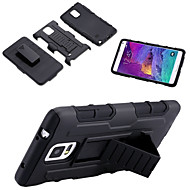 For Samsung Galaxy Note Shockproof / with Stand Case Back Cover Case Armor PC Samsung Note 5 / Note 4 / Note 3