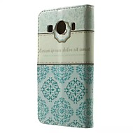 Voor Samsung Galaxy hoesje Kaarthouder / Portemonnee / met standaard / Flip / Patroon hoesje Volledige behuizing hoesje Tegels PU-leer