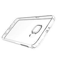 MO.MAT Ultra Slim Soft Transparent TPU Back Case for Samsung Galaxy S6