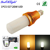 1 stuks YouOKLight E26/E27 20 W 260 SMD 3528 1700 LM Warm wit / Koel wit T Decoratief Maïslampen AC 220-240 / AC 110-130 V