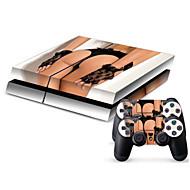 b-Skin® PS4 suojaava tarra kattaa iho ohjain tarrakalvo