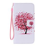 Για Samsung Galaxy Θήκη Πορτοφόλι / Θήκη καρτών / με βάση στήριξης / Ανοιγόμενη tok Πλήρης κάλυψη tok Δέντρο Συνθετικό δέρμα SamsungS6