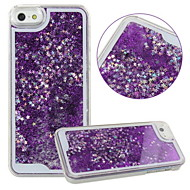 KARZEA™Unique Design Fluid Liquid Flowing Bling Shiny Sparkle Stars Back Cover Case for iPhone 5/5S