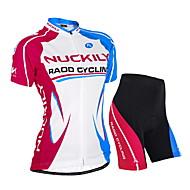 NUCKILY Ciclismo Set di vestiti/Completi Per donna / Unisex BiciclettaImpermeabile / Traspirante / Resistente ai raggi UV / Permeabile