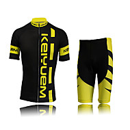 KEIYUEM Bike/Cycling Arm Warmers / Jersey + Shorts / Clothing Sets/Suits Women's / Unisex Short SleeveWaterproof / Breathable / Insulated