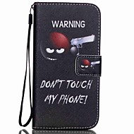 COCO FUN® Sharpshooter Pattern PU Leather Case Cable Flim and Stylus for Samsung Galaxy S4/S4 MINI/S5/S5 MINI