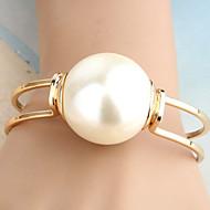 Damskie Bransoletki cuff Perłowy Stop Unikalny Modny Oświadczenie Biżuteria Biżuteria Golden Biżuteria 1szt