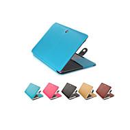 """cubierta de la caja del ordenador portátil de la moda de cuero de la PU para el aire del macbook 11 """"pro 13"""" / 15 """""""