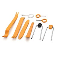 ZIQIAO 12Pcs Car Door Plastic Trim Dash Stereo Radio Installation Removal Pry Tool Set