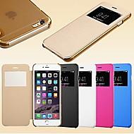 smart touch visualizzazione a schermo pu custodia in pelle per iPhone5 / 5s (colori assortiti)
