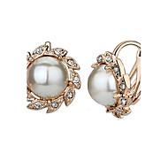 Perłowy Flower Shape Lampka zmieniająca kolory Silver Różowe złoto Biżuteria Na Impreza