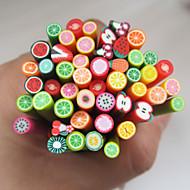 50pcs Nail Art Fimo Gute Fruit