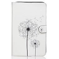 For Samsung Galaxy etui Pung Kortholder Med stativ Flip Mønster Etui Heldækkende Etui Mælkebøtte Kunstlæder for Samsung Tab E 9.6