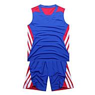 Hauts/Tops / Bas / Shirt ( Jaune / Blanc / Rouge / Noir / Bleu ) - Fitness / Basket-ball - Sans manche - Homme