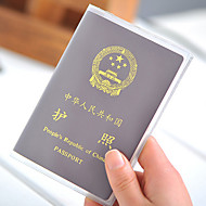 1 PC Passport Holder & ID Holder Passport Cover Waterproof Dust Proof Ultra Light(UL) Portable for Travel Storage PVC
