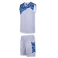 Hauts/Tops / Bas / Shirt ( Blanc / Noir / Bleu / Rose Foncé ) - Fitness / Basket-ball - Sans manche - Homme