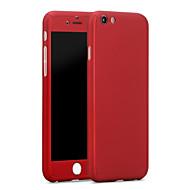 Til Etui iPhone 6 Etui iPhone 6 Plus Støtsikker Etui Heldekkende Etui Ensfarget Hard PC til iPhone 6s Plus/6 Plus iPhone 6s/6