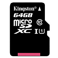kingston originală clasa 64GB 10 SD microSDHC card de memorie micro tf flash de mare viteză reală