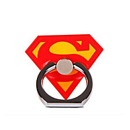 Super Man Metal Ring Adjustable Holder for iPhone & Samsung