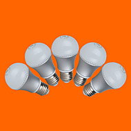 5 pcs fsl E26/E27 7W 12 SMD 3528 500 LM Warm White/Cool White G Globe Bulbs AC 220-240 V