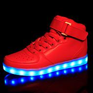 las de las mujeres llevaron los zapatos de bailarina USB / pisos de la novedad / zapatillas de deporte de la manera / zapatos deportivos al aire libre