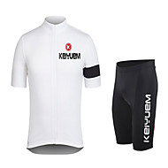 Set di vestiti/Completi - Ciclismo - Per uomo / unisex - Maniche corte -Anti-polvere / Antivento / Materiali leggeri / Pad 3D / Basso