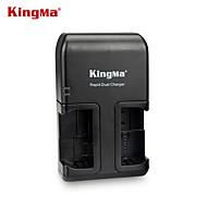 kingmaエンEL15ニコン用エンEL15デュアルAC充電器をニコン1 V1 D600のD610 D800のD800E D810のD7000のd7100