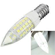 4W E14 LED a pannocchia T 44 SMD 2835 300-400 lm Luce fredda Decorativo AC 220-240 V 1 pezzo