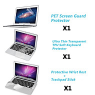 """Screen Protector+TPU Keyboard Cover+Metal Rest and Touch Panel Membrane for 11.6""""/13.3"""" MacBook Air"""